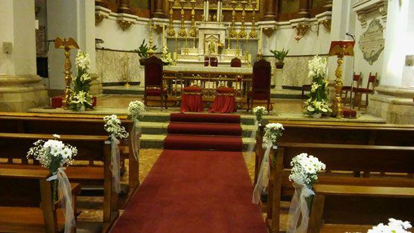 Decoración de iglesias para bodas 2