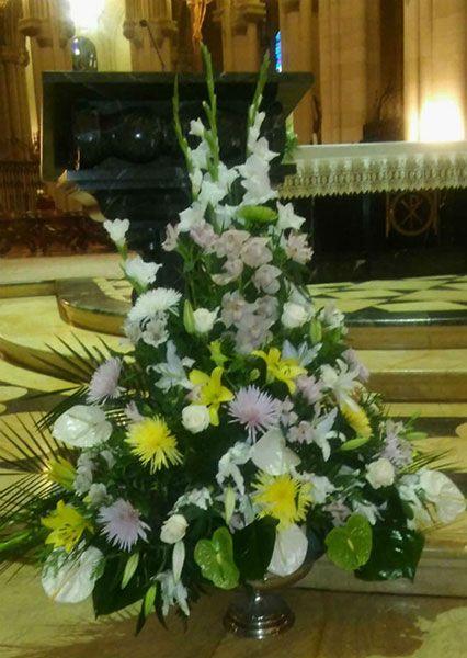 Decoración de iglesias para bodas 3