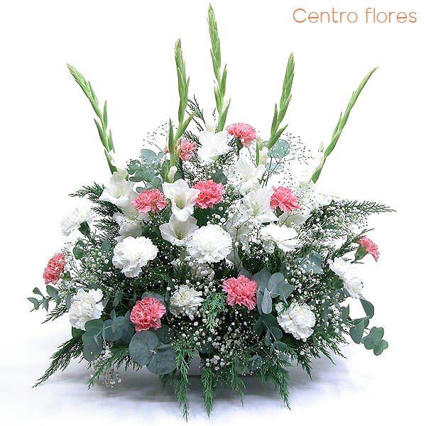 Centro flores para Todos los Santos