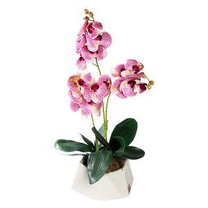 composicion-orquidea-morada-artificial