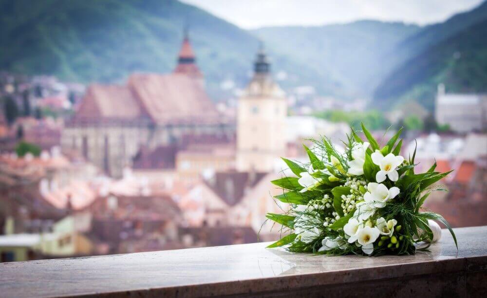 flores de boda blancas