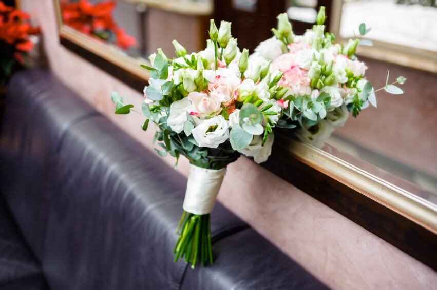 ramos de flores para novias