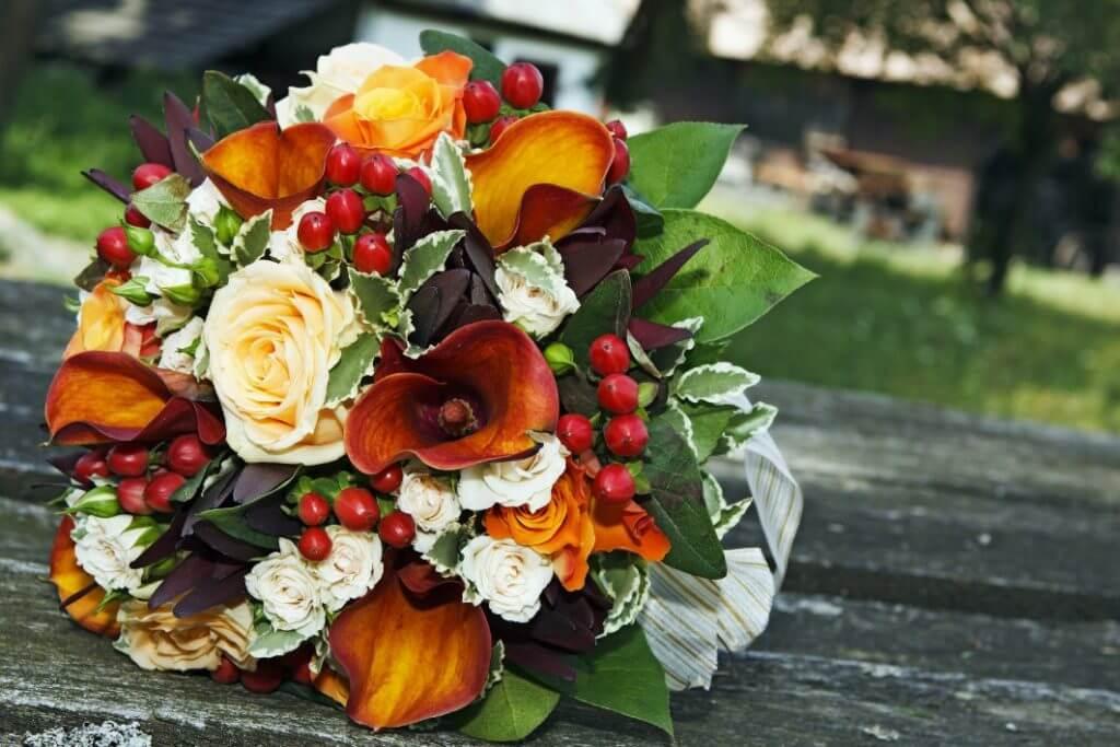 flores preservadas para novia